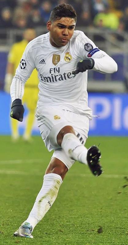 Casemiro fastställde slutresultatet 3-1 på ett läckert volleyskott. Foto: Football.ua/Wkimedia Commons