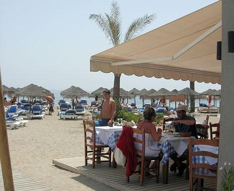 Det ser ut att bli årets första strandhelg på Costa del Sol.