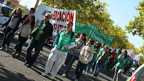 Samtliga sektorer inom skolväsendet stöder strejken.
