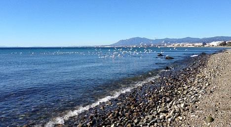 Det har varit rena strandvädret i  helgen, men på måndag blir det åter svalare.