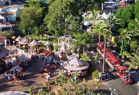 Nöjesparken Tivoli World öppnade 1972 och har inte förändrats anmärkningsvärt i sitt utseende sedan dess. Foto: Tivoli World