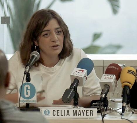 Celia Mayer tar över det nybildade jämlikhetsdepartementet i Madrid. Foto: Ganemos Madrid/Wikimedia Commons