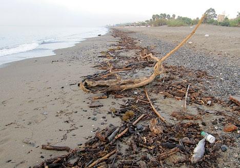 Den senaste stormen uppges ha orsakat mest skador, av de fem som denna säsong drabbat Marbellakusten.