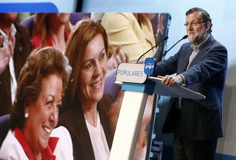 Mariano Rajoy har ännu inte betalat för den kongress där han försvarade sin post.