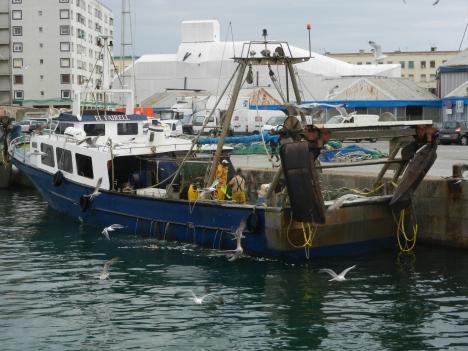Den förolyckade fiskebåten har tidigare fotograferats i hamn av Sydkusten.