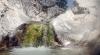 Río Castor är lika vacker som underhållande. Det är svårt att motstå en naturlig vattenrutschkana som denna!