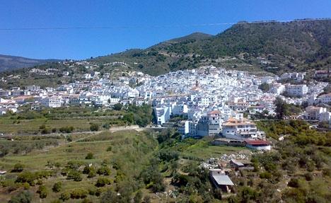 Byar som Cómpeta i Axarquía står med på listan över de 20 samhällen där risken för ett kraftigt skalv är som störst.