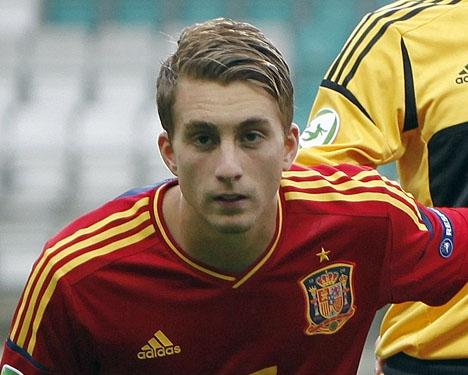 Deulofeu var föremål för straffen som Silva satte för 1-0 och fastställde själv slutresultatet mot Frankrike. Foto: Catherine Kõrtsmik/Wikimedia Commons