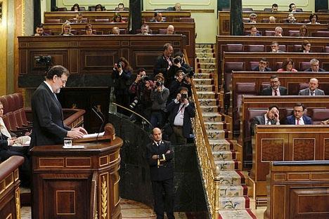 Podemos utspel i parlamentet retar en stor del av de övriga ledamöterna.