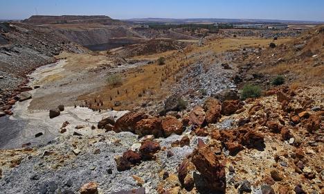 Giftolyckan vid Bolidengruvan i Aznalcóllar är den hittills allvarligaste i Spanien. Foto: David Pineda