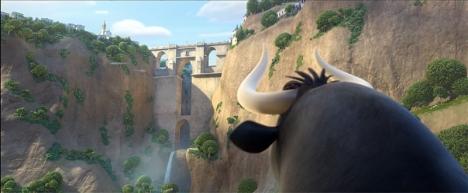 Den nya animerade filmen utspelas delvis i Ronda och både bron och landskapet är verklighetstrogna.