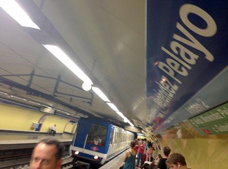 Från 1 april är biljetthanteringen automatiserad i hela Madrids tunnelbana.