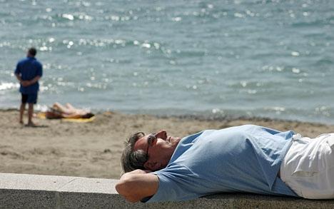 Costa del Sol bjuder på försommarväder till helgen.