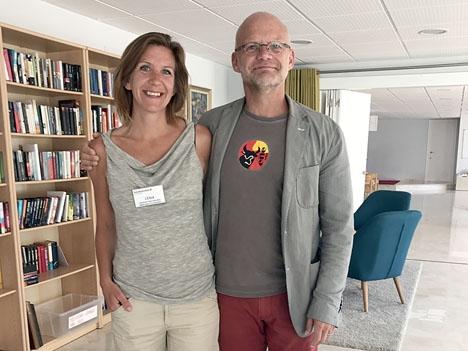Lena Ottosson och Mikael Jönsson har från och med 1 maj eget pastorat. Foto: Svenska kyrkan i Fuengirola