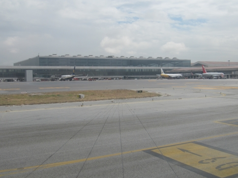 Málaga flygplats ska få en ny tillfart från norr.