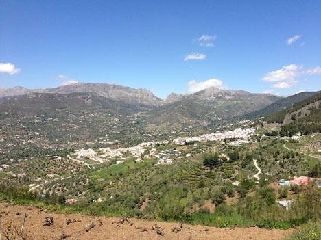 Alcaucín ligger i nordöstra Málagaprovinsen, på gränsen till Granada. Foto: Juan Pablo Olmo/Wikimedia Commons