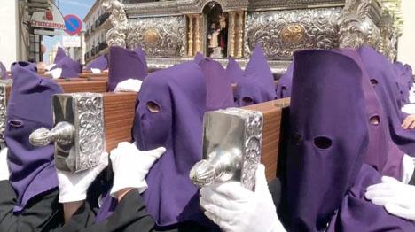 Sydkusten har i år bevakat processioner i sex av Andalusiens åtta provinser. Bilden är från Ronda.