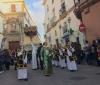 Kvinnoprocession på skärtorsdagen i Cádiz.