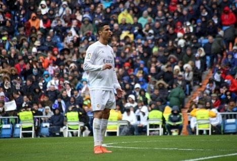 Cristiano Ronaldo avgjorde mötet mot Bayern München i förlängningen.