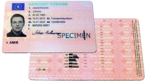 Svenskar bosatta i Spanien måste sedan flera år byta till spanskt körkort inom två år. Foto: Trafikverket