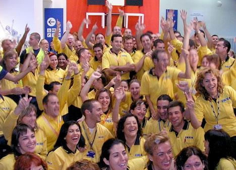 Vid senaste bokslutet hade IKEA 8 158 anställda i Spanien.