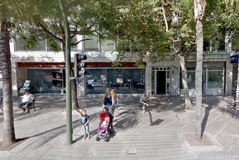 Den infekterade byggnaden på Avenida Palma de Mallorca. Foto: Google Maps