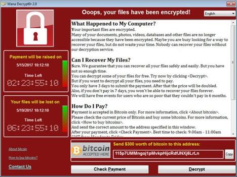 Viruset är en så kallad ransomware, som kodar alla filer på datorn och kräver en lösensumma på 300 dollar i bitcoins, för att man ska återfå sina dokument.