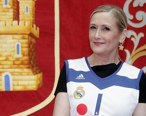 Regionalpresidenten i Madrid Cristina Cifuentes hävdar att hennes hederlighet står över allt tvivel. Foto: Cristina Cifuentes/Wikimedia Commons