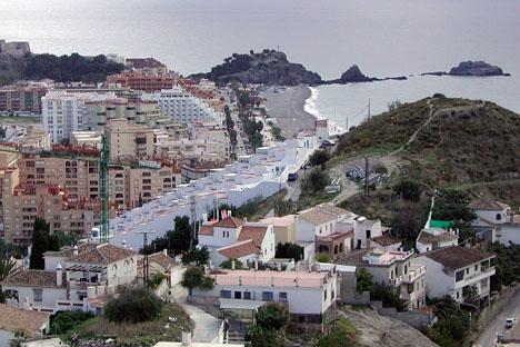 Almuñécar har lidit flera stora strömavbrott, när belastningen varit som störst.