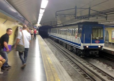 Madrids tunnebana, linje 1.