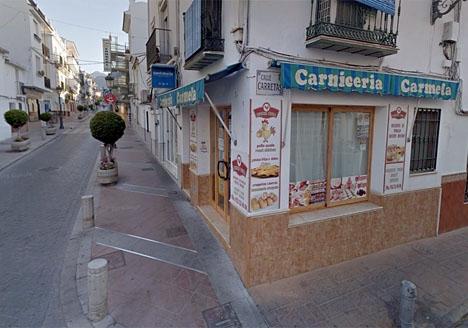 Grillen på Calle Pintada. Foto: Google Maps
