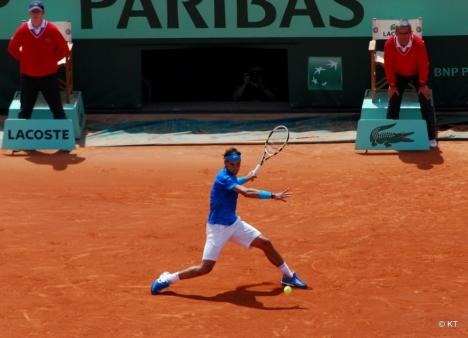 Nadal krossade Wabrinka i finalen för att säkra sin tionde titel i Roland Garros. Foto: Carine06