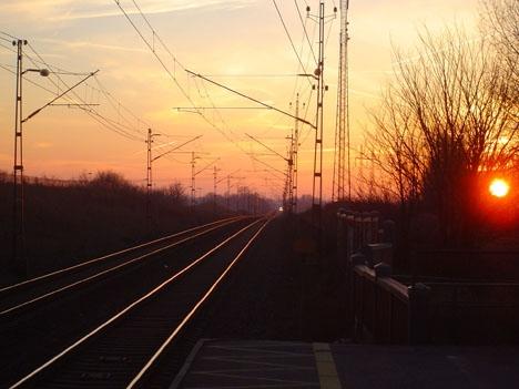 Kontraktet inkluderar en renovering av tågstationen i Hjärup. Foto: Mare44/Wikimedia Commons