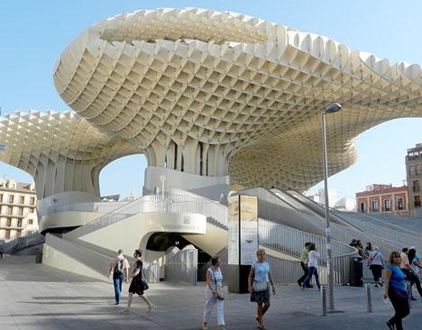 Sevillaborna gör bäst i att hålla sig i skuggan de närmaste dagarna.