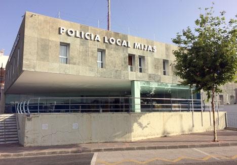 Mannen hängde sig i arrestcellen i Las Lagunas.