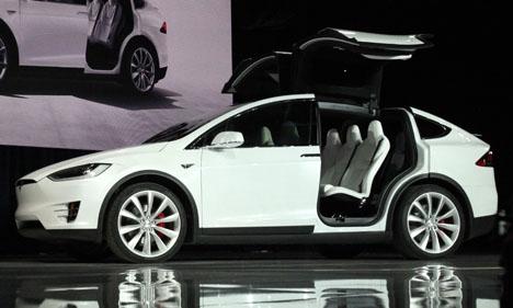 Teslas elbilar kostar från 80 000 euro.