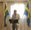 Det var ambassadör Lars-Hjalmar Wides första officiella besök på Costa del Sol.