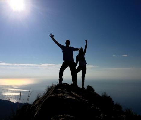 Pico del Cielo gör skäl för sitt namn och får besökaren att känna sig uppe bland molnen.