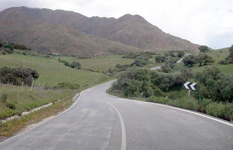 Kroppen hittades nära Sierra Bermeja, på landsvägen mellan Estepona och Jubrique.
