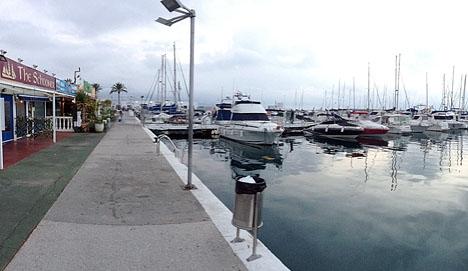 Fritidshamnen i Fuengirola.