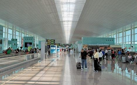Hamza Yalcin greps 3 augusti på Barcelonas flygplats El Prat, när han skulle flyga till London.