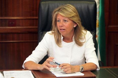 Utredningen mot Muñoz läggs ned just när hon ska återta makten i Marbella. Foto: Ayto de Marbella
