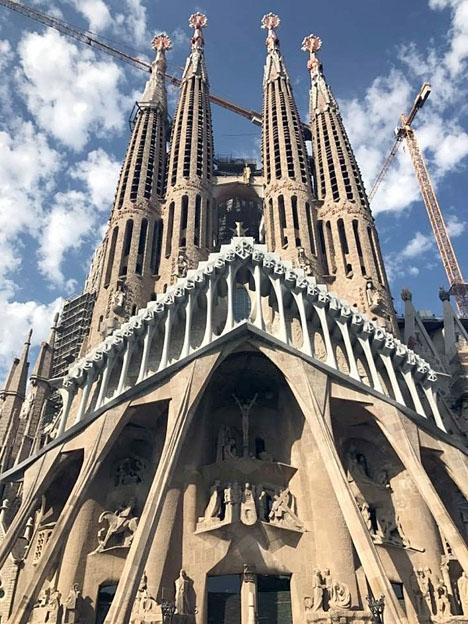 Gaudís ofullbordade mästerverk uppges ha varit ett av terroristerans ursprungliga mål.