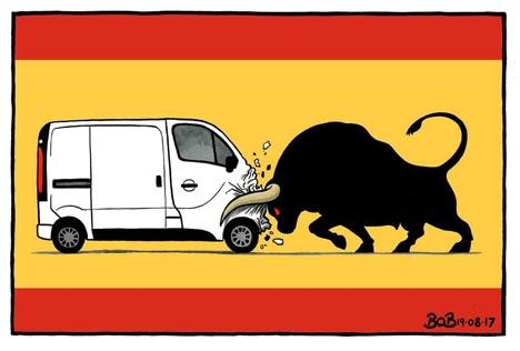 Spanien vet vad terrorism innebär och kommer utan tvekan att resa sig snabbt, ännu en gång.