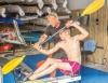 Lars Walkler har varit kanotonstruktör sedan 1976 och har även en mängd medaljer som tävlingsaktiv. Foto: Privat