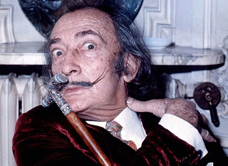 Salvador Dalí förblir utan erkända barn. Foto: Allan Warren/Wikimedia Commons