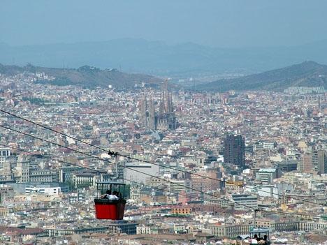 Mannen greps efter ett övergrepp 9 september i området Sants-Montjuic.