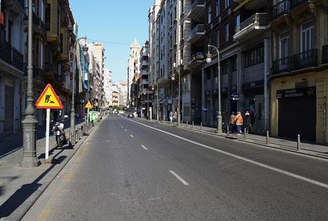 Dramat i vilket bland annat en 34-årig svensk dödats, inträffade i Valenciakvarteret Russafa. Foto: Joanbanjo/Wikimedia Commons