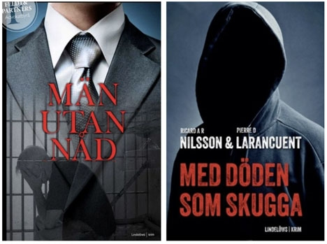 Tillsammans med en fängelsekumpan som tjänar livstids fängelse gav den misstänkta styckmördaren Pierre Danilo Larancuent ut två kriminalnoveller i Sverige.
