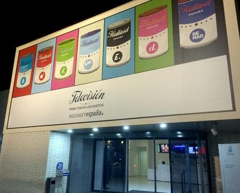 En av mina två färska erfarenheter inträffade hos tv-jätten Mediaset, i Madrid.